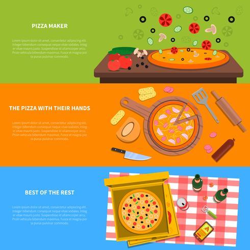 Pizza-Banner gesetzt