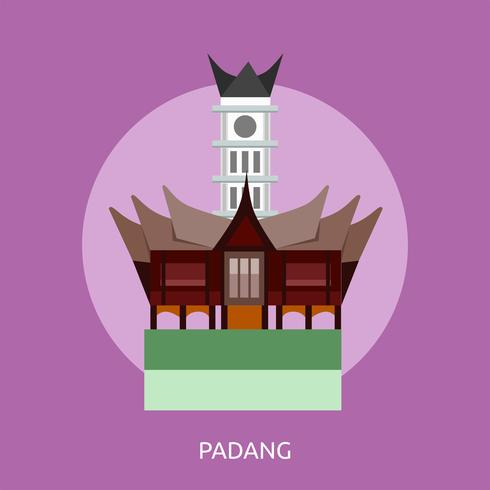 Padang Konceptuell illustration Design