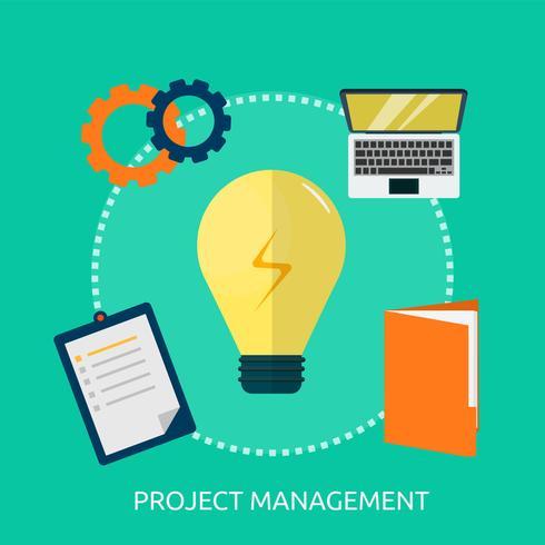 Project Management Conceptual illustration Design