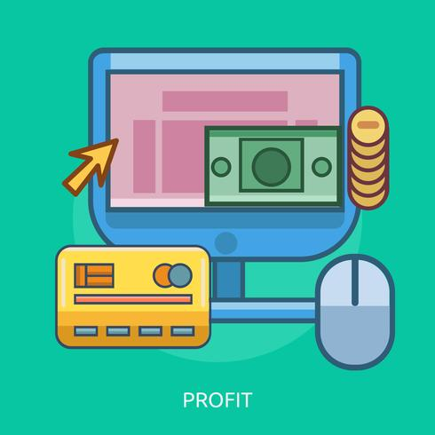 Profit Conceptual illustration Design