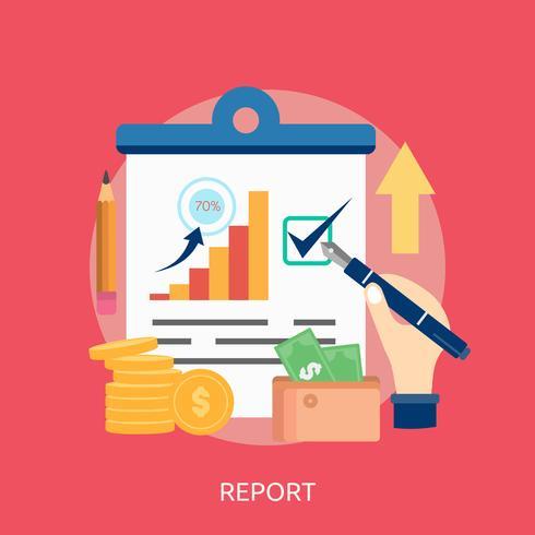 Report Conceptual illustration Design
