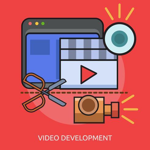 Videoutveckling Konceptuell illustration Design