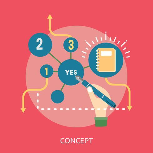 Concept Conceptual illustration Design