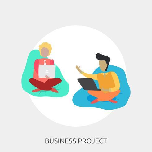 Business Project Conceptual illustration Design
