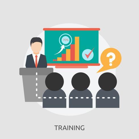 Training Conceptual illustration Design