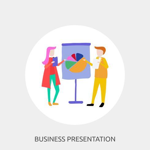 Business Presentation Conceptual illustration Design