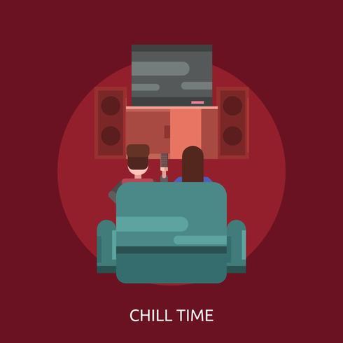 Chill Time Konzeptionelle Darstellung