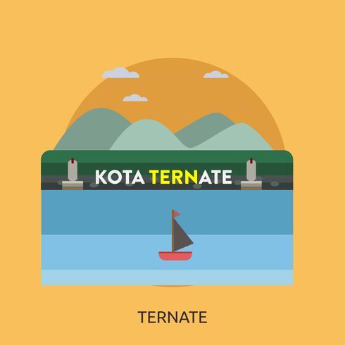 Ternate Konceptuell illustration Design