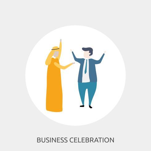 Business Celebration Conceptual illustration Design
