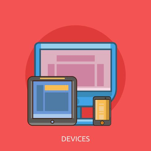 Devices Conceptual illustration Design