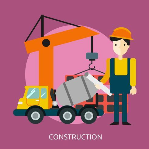 Construction Conceptual illustration Design