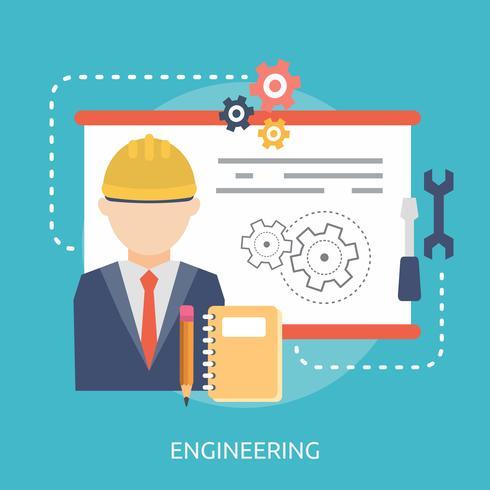 Engineering Conceptual illustration Design