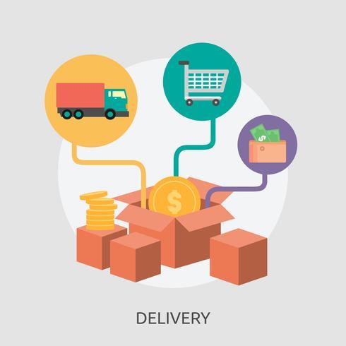 Delivery Conceptual illustration Design