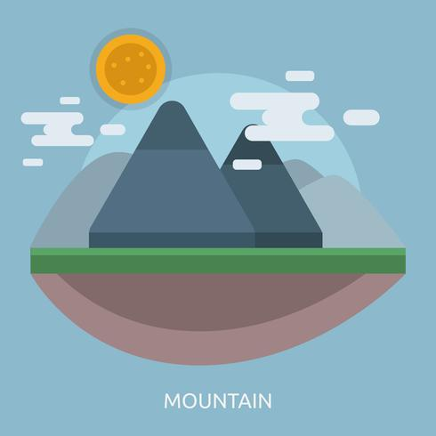 Mountain Conceptual illustration Design