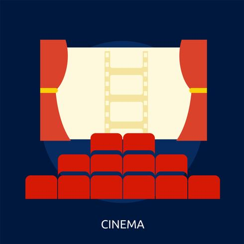 Cinema Conceptual illustration Design