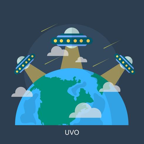 Ufo Conceptuel illustration Design