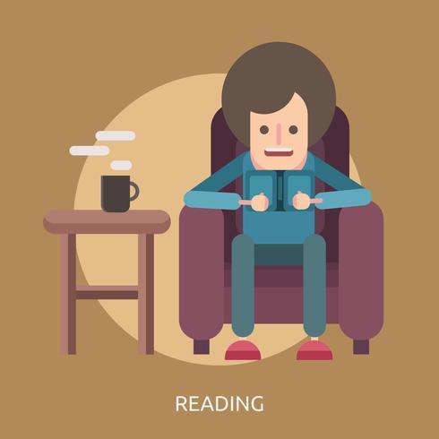 Lectura conceptual de diseño de ilustraciones.