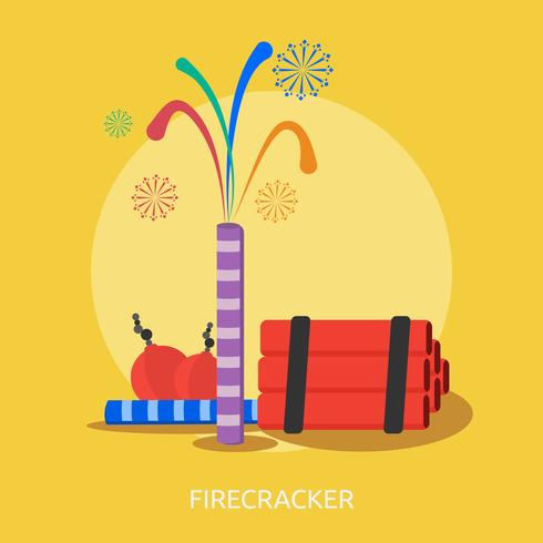 Firecracker Conceptual illustration Design