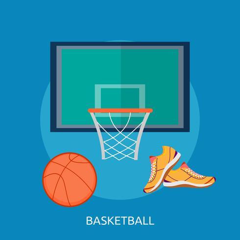 Basket Konceptuell illustration Design