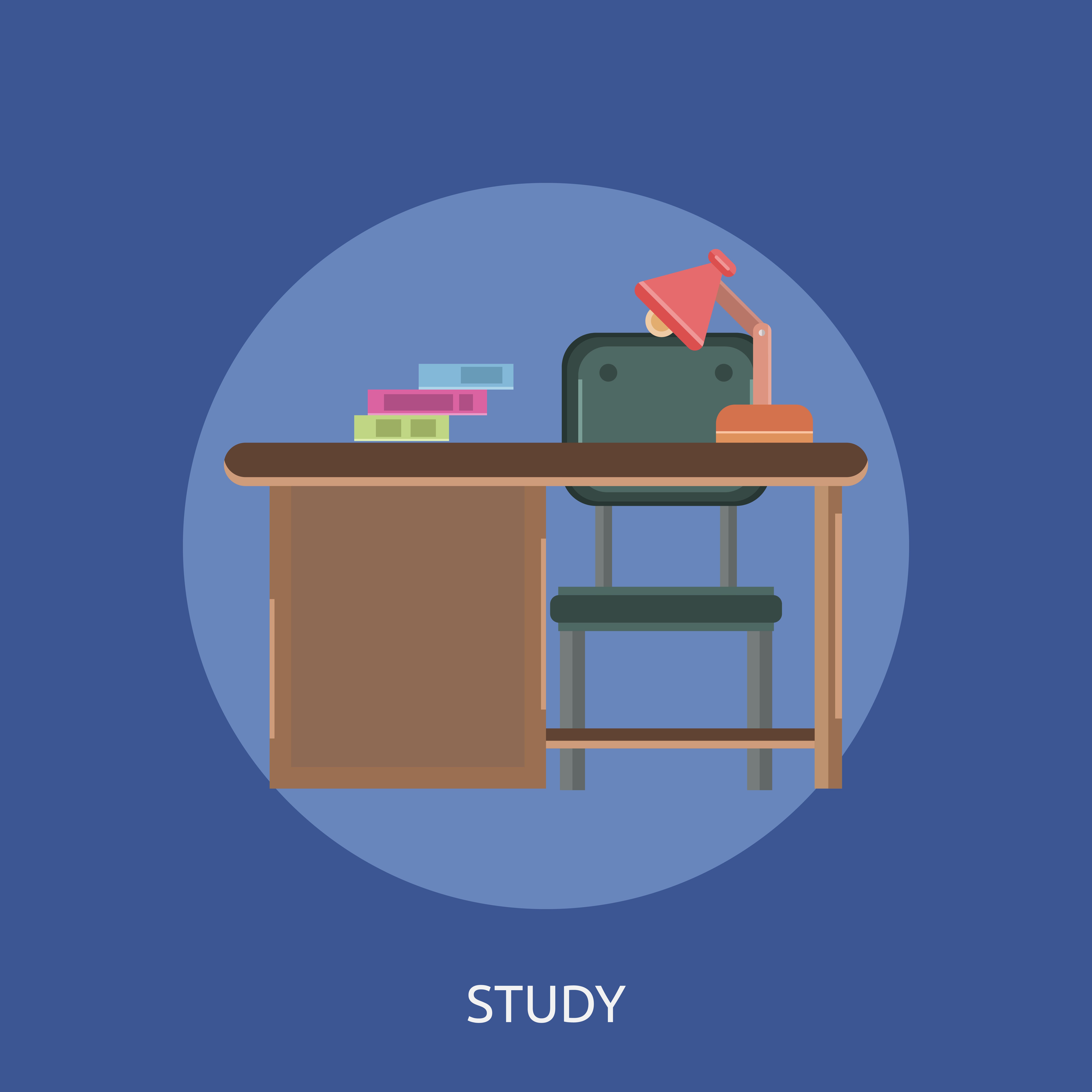 Study Conceptual illustration Design 474093 Vector Art at ...