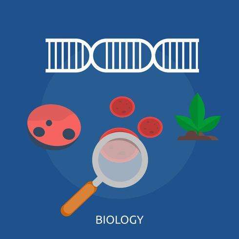 Biología Conceptual Ilustración Diseño.