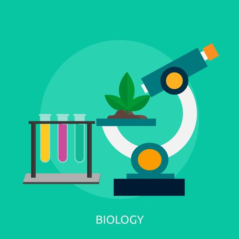 Konzeptionelle Darstellung der Biologie