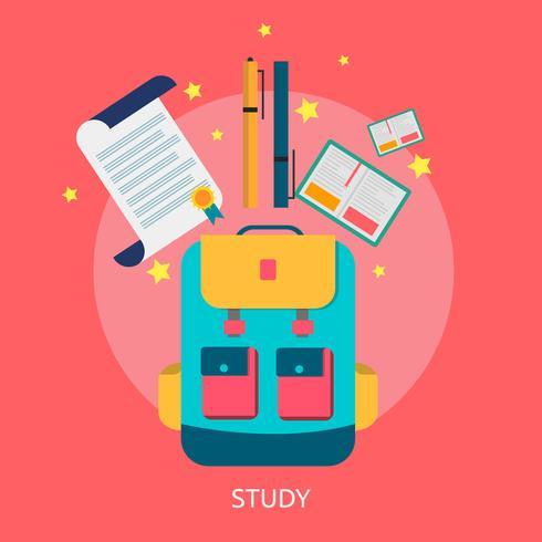 Study Conceptual illustration Design