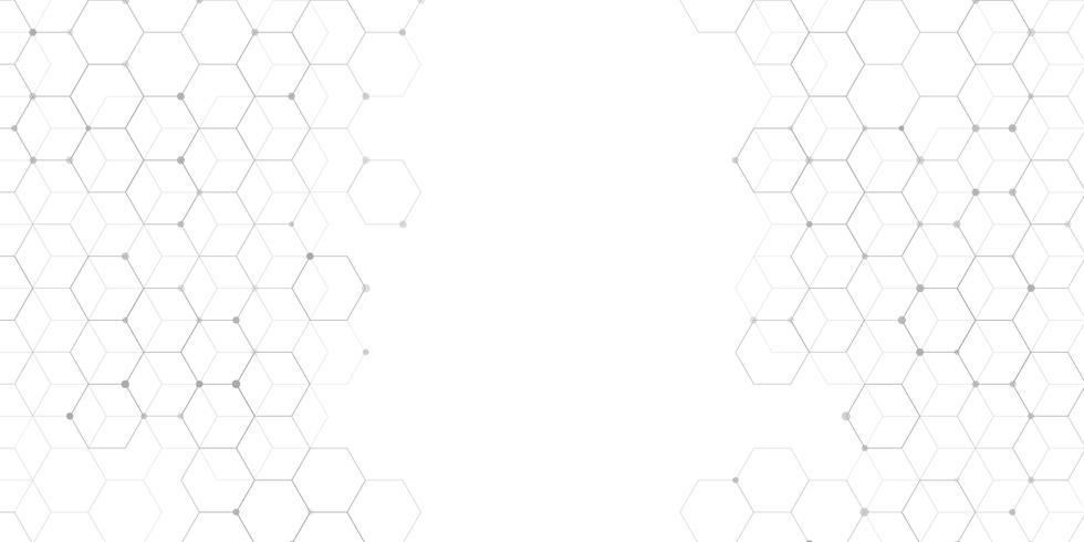 Conexiones abstractas diseño de banner vector