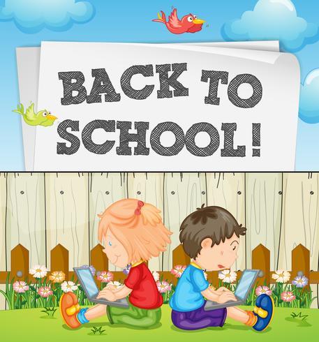 Zurück zum Schulthema mit Kindern und Computern