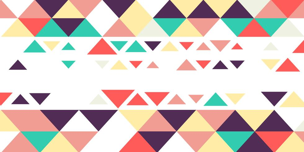 Diseño de banner de baja poli vector