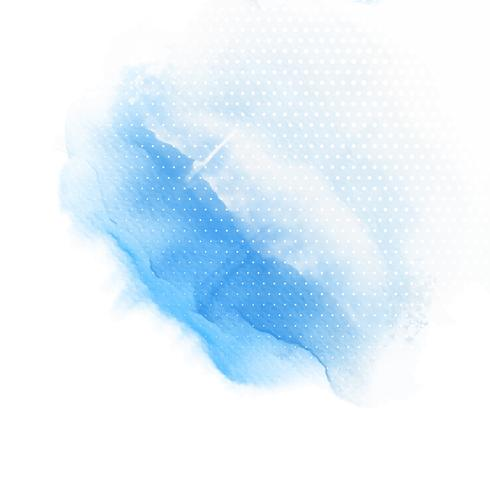 Fond de lavage aquarelle bleu