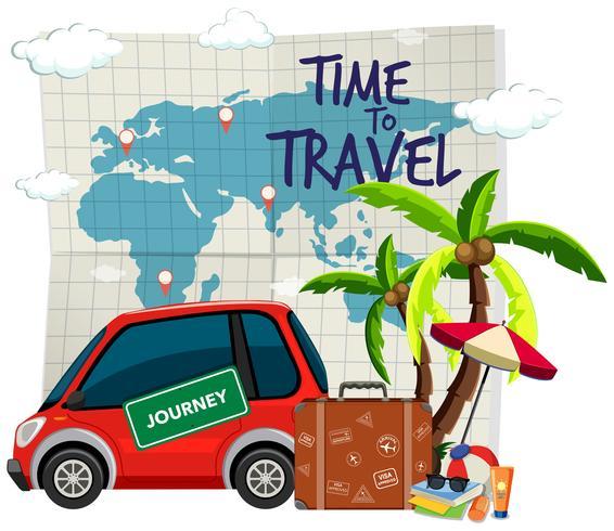 Modèle de temps pour voyager