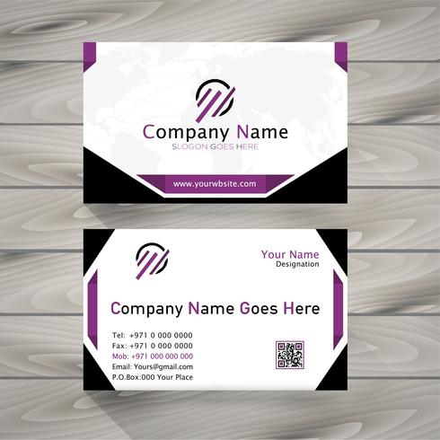 newest business card vector