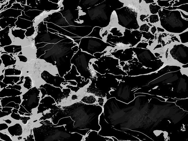 Svart Marmor Textur Vektor Bakgrund