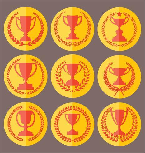 trofee vector
