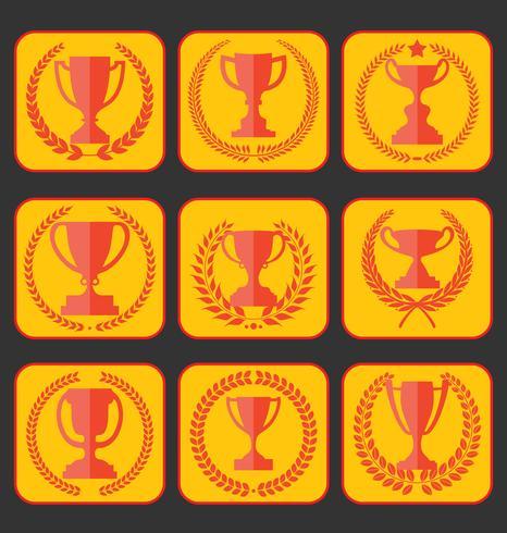 trofeo vector