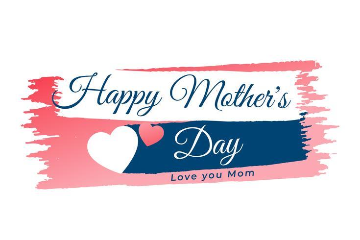 mors dag hjärta banner bakgrund