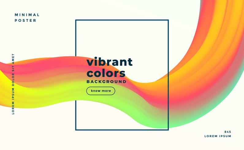 färgglad modern abstrakt flytande former flytande bakgrund