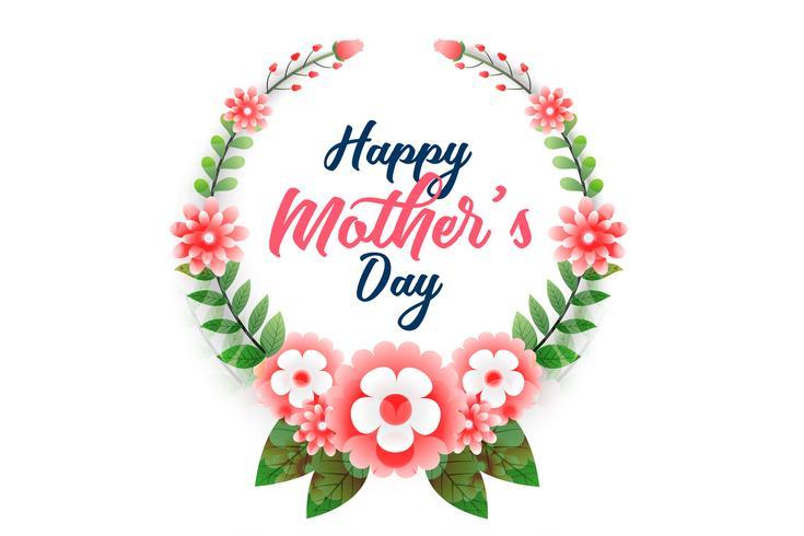 glad mors dag blomma bakgrund