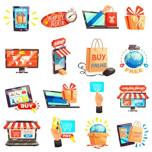 Online Store Icons Collection