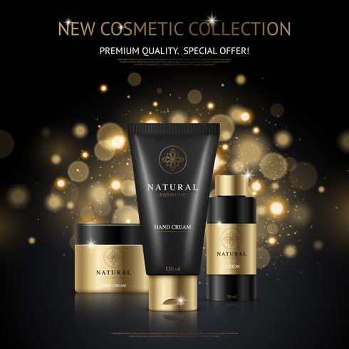 Design de marca de produtos cosméticos