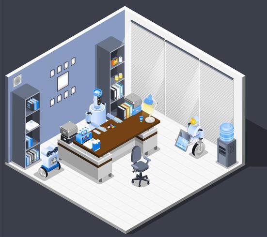 Robotic Chief Executive Composition vector