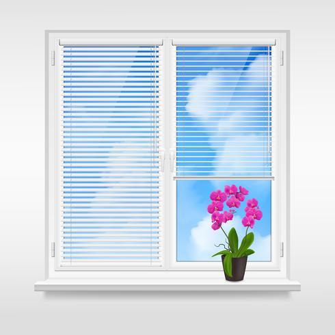 home venster ontwerpconcept