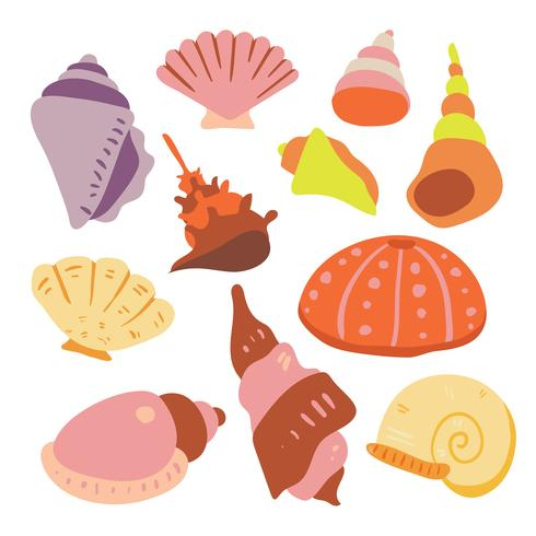 shell vector collectieontwerp