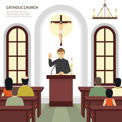 Katholischer Kirchenpriester