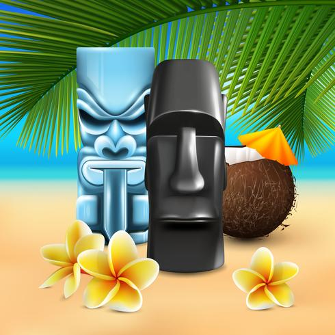 Kahuna Hawaiian Beach-samenstelling