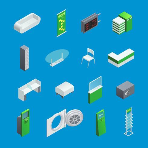 Bankinriktade isometriska element