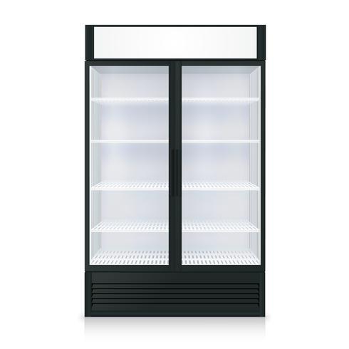 Modelo de freezer realista