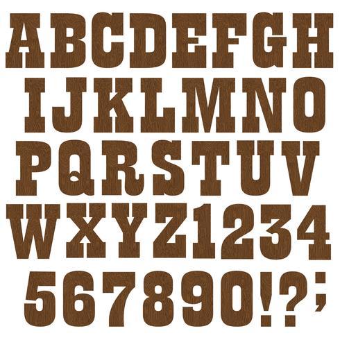 5637e05dc alfabeto de madera - Descargue Gráficos y Vectores Gratis