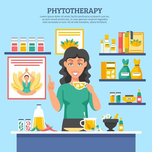 Illustration de médecine alternative